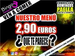 Bingo Tres Forques Valencia