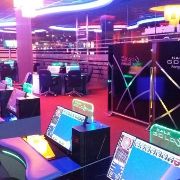 Terminales azulred Bingo Tres Forques